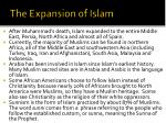 the expansion of islam1