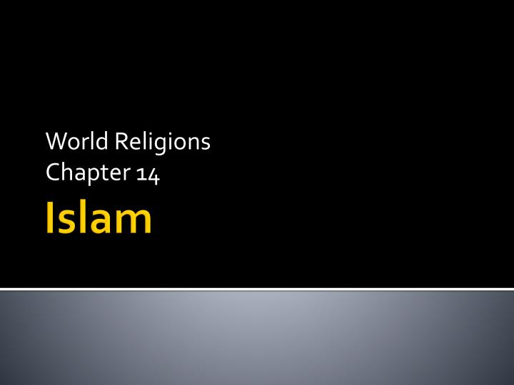 world religions chapter 14 n.