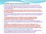 pi 10 public access to key fiscal information