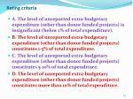 rating criteria2