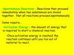 reaction energy1