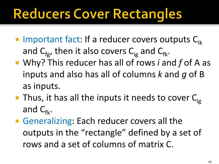 Reducers Cover Rectangles