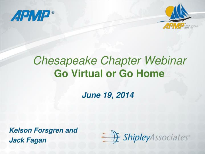 chesapeake chapter webinar go virtual or go home n.
