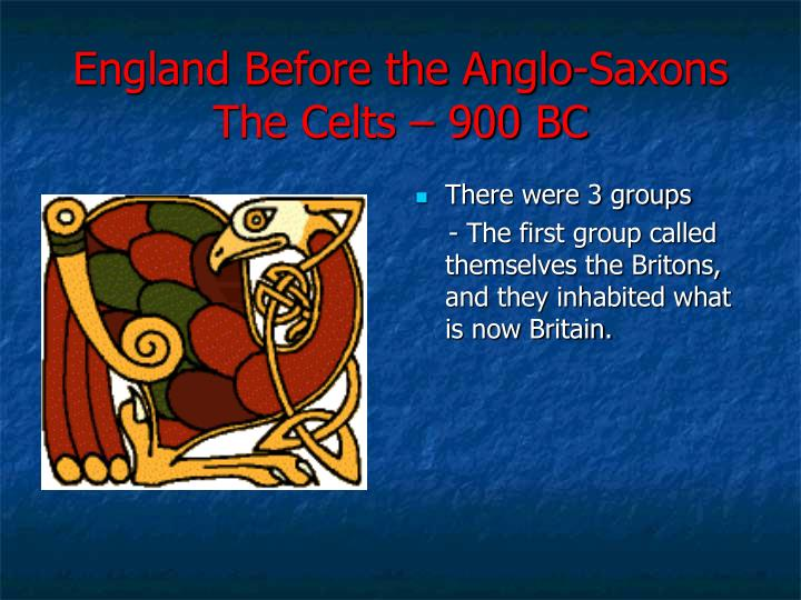 England Before the Anglo-Saxons