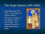 the anglo saxons 449 106618