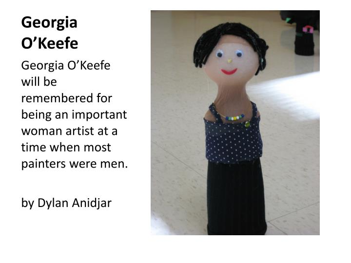 Georgia o keefe