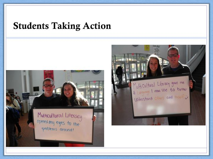 Students Taking Action