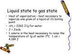 liquid state to gas state1