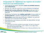 proposition 16 optimiser les r gimes de soutien financier la m thanisation