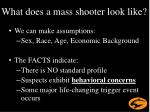 what does a mass shooter look like1