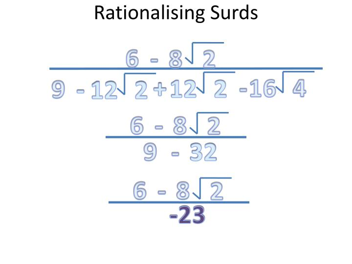 Rationalising