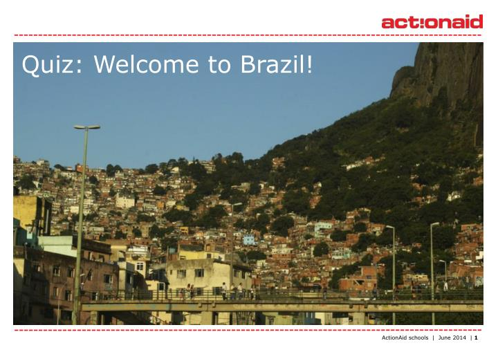 quiz welcome to brazil n.