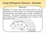 using pythagoras theorem example9