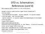 dtd vs schematron references cont d7