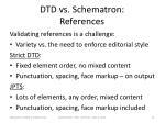 dtd vs schematron references