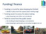 funding finance