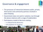governance engagement