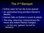 the 2 nd banquet