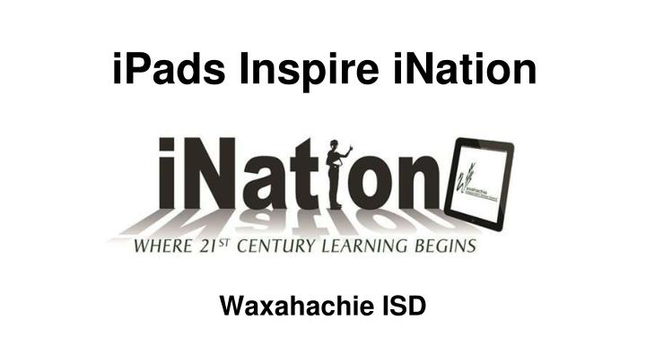 ipads inspire ination n.
