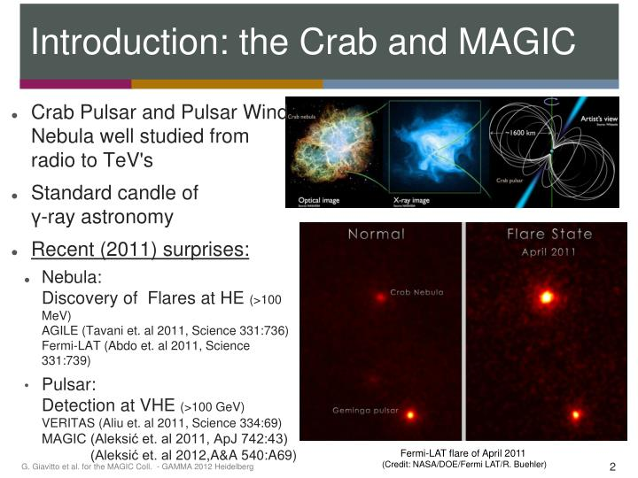 Introduction the crab and magic