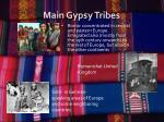 main gypsy tribes