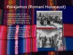 porajamos romani holocaust