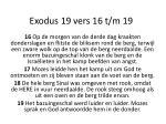 exodus 19 vers 16 t m 19