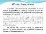 mission conomique1