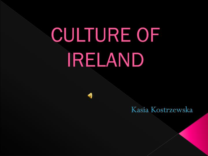 culture of ireland n.