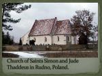church of saints simon and jude thaddeus in rudno poland