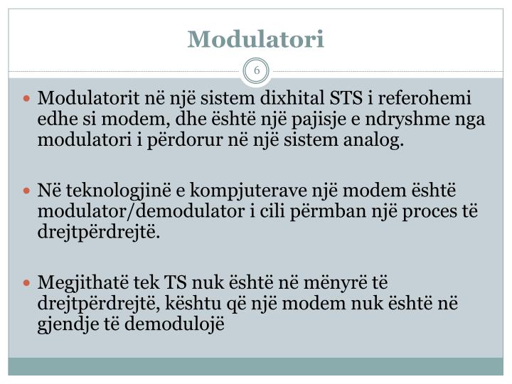 Modulatori