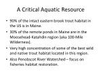 a critical aquatic resource