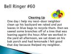 bell ringer 60