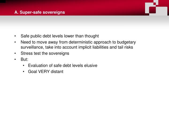 A. Super-safe sovereigns