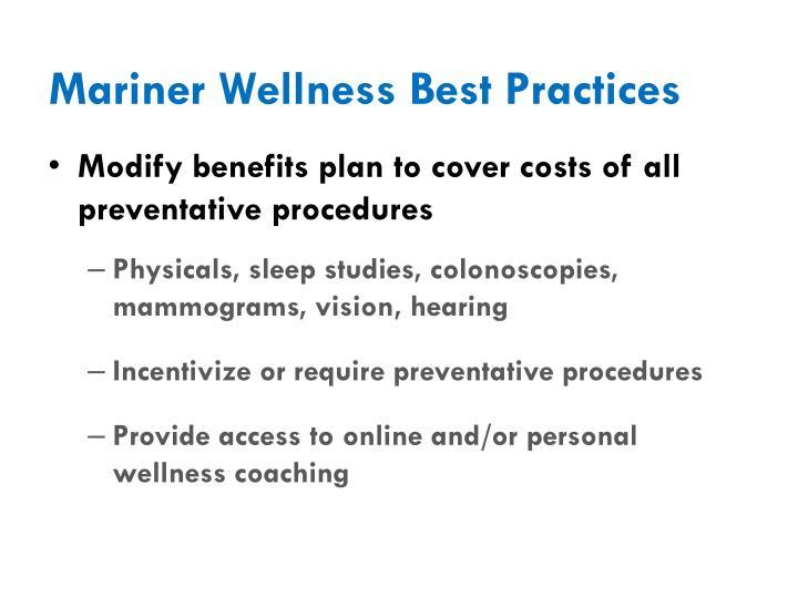 Mariner Wellness Best