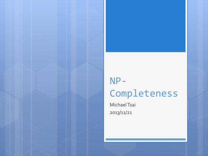 np completeness n.