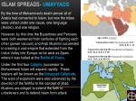 islam spreads umayyad s
