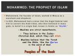 mohammed the prophet of islam
