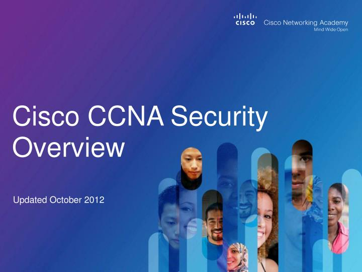 cisco ccna security overview n.