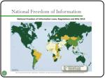 national freedom of information