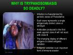 why is trypanosomiasis so deadly1