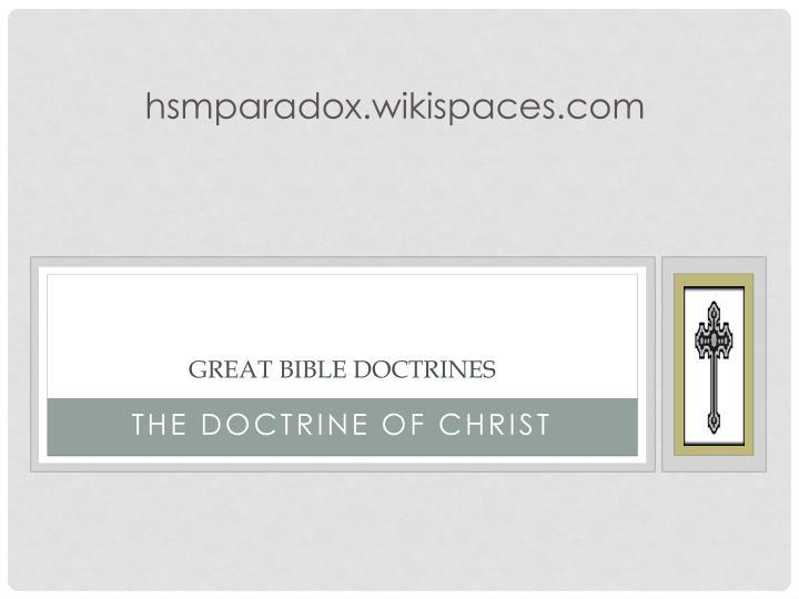 hsmparadox.wikispaces.com