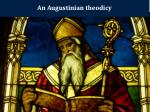 an augustinian theodicy