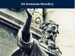 an irenaean theodicy