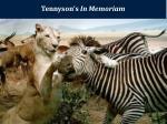 tennyson s in memoriam