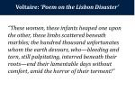 voltaire poem on the lisbon disaster