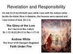 revelation and responsibility