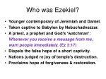 who was ezekiel