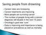 saving people from drowning