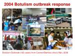 2004 botulism outbreak response
